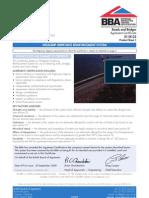 BBA Cert for Weldgrip Gripforce Reinf System (2009)