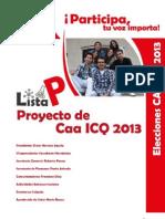 Proyecto FInal CAA ICQ 2013