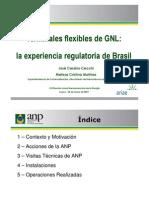 Terminales Flexibles de GNL a Experiencia Regulatoria de Brasil