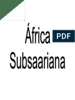 Africa Subsaariana