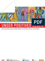 Body Maps Postkarten-Deutsch