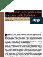 ESTRATÉGIAS DA SUBVERSÃO IDEOLÓGICA