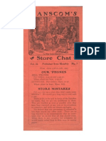 Hanscom's Store Chat Vol 26, No. 7.  April 13th to 27th, 1903.