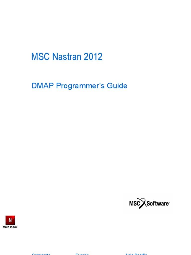 MSC Nastran 2012 DMAP Programmer's Guide | Parameter (Computer Programming)  | Data Type