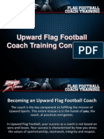 Flag Football Coach Training
