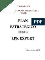 Trabajo n 6 Plan Estrategico Avance