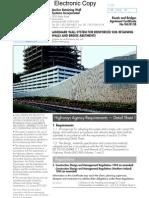 BBA Cert for Landmark Wall System for Rienf Soil Ret Walls