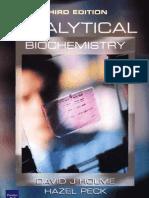Analytical Biochemistry, 3rd Ed - David J. Holme & Hazel Peck
