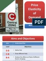 elasticity of demand l2