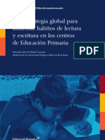 Estrategia global para fomentar hábitos de lectura