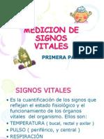 Medicion de Signos Vitales