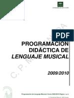 Programacion Didactica Lenguaje Musical