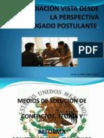 LA MEDIACIÓN VISTA DESDE LA PERSPECTIVA (DIAPOSITIVAS).pptx