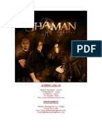 shaman complete presentation 2000-2008