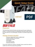 WBR2G54QSG Quick Setup Guide