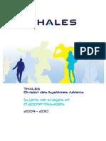 Catalogue Thales