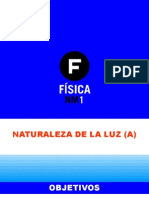 3.1 Naturaleza de La Luz