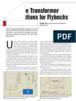 FlyBack Transformer Calculations