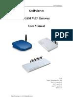 GoIP Manual
