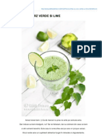Edithskitchen.ro-smoothie Cu Orz Verde Si Lime