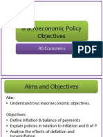 macroeconomic policy objectives lesson 2