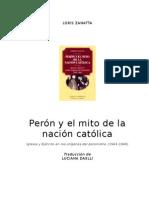 Loris Zanatta - Perón y el mito de la nación católica