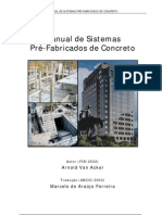 MANUAL DE PRÉ-FABRICADOS EM CONCRETO