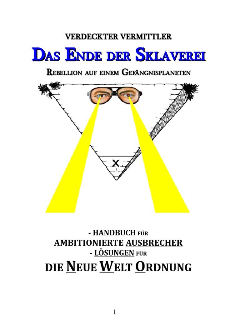 Verdeckter Vermittler Das Ende Der Sklaverei Loesungen Fuer Die Neue ...