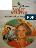 Violet Winspear - The Awakening of Alice