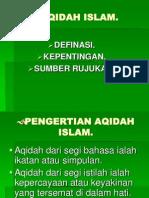 Aqidah Raduan