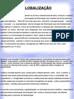 globalizaçao e os seus efeitos