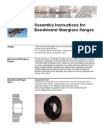 Bondstrand Fiberglass Flanges Assembly Instructions - Ameron