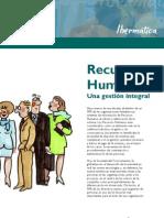 RR.HH sobre la gestión integrada