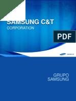 Introduction of Samsung C&T y Experiencias 22 de FEBRERO DEL 2013