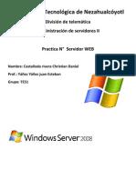 Practica 15 Servidor Web