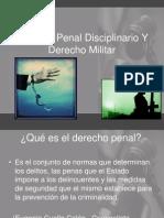 Derecho Penal Disciplinario Y Derecho Militar