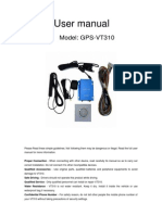 User Manual of VT310