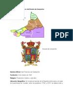 Datos socioeconómicos del Estado de Campeche