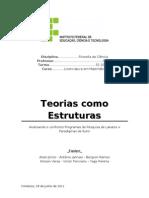 FC [Trabalho Escrito ] - Teorias Como Estruturas