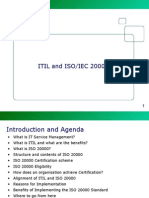 Itil and Iso 20000