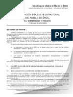 ANIMACIÓN BÍBLICA DE LA PASTORAL DEL PUEBLO- Santigo Silva Retamales