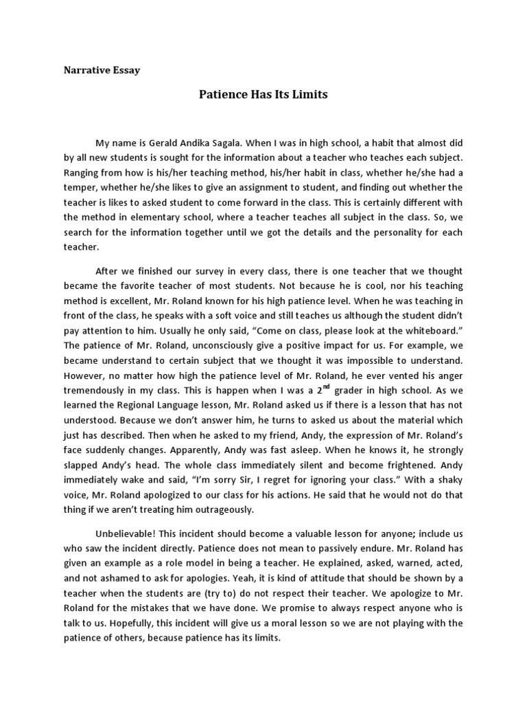 an analysis of the essay on the patience of penelope You can say that penelope is the perfect representation of patience how to write a rhetorical analysis essay.