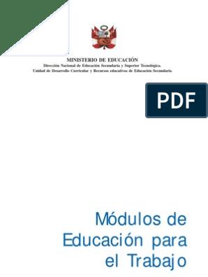 Modulos Ept Publicacion Pdf Presupuesto Calidad Negocios