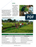 RT Vol. 11, No. 1 Burundi releases two new rice varieties