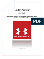 Under Armour Case Report