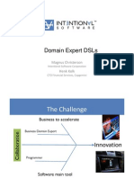 Intentional Software - Domain Expert DSLs