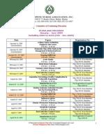 Philippine Nurses Association (PNA) Jan to June 2009 Seminars