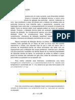 relatório 01-dilatação linear