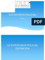 Supervision Policial Clase 2