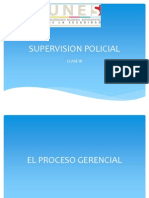 Supervision Policial Clase 3